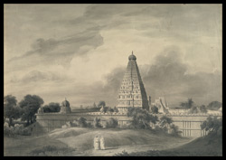 A temple at Tanjore. Between 30 January and 2 February 1804